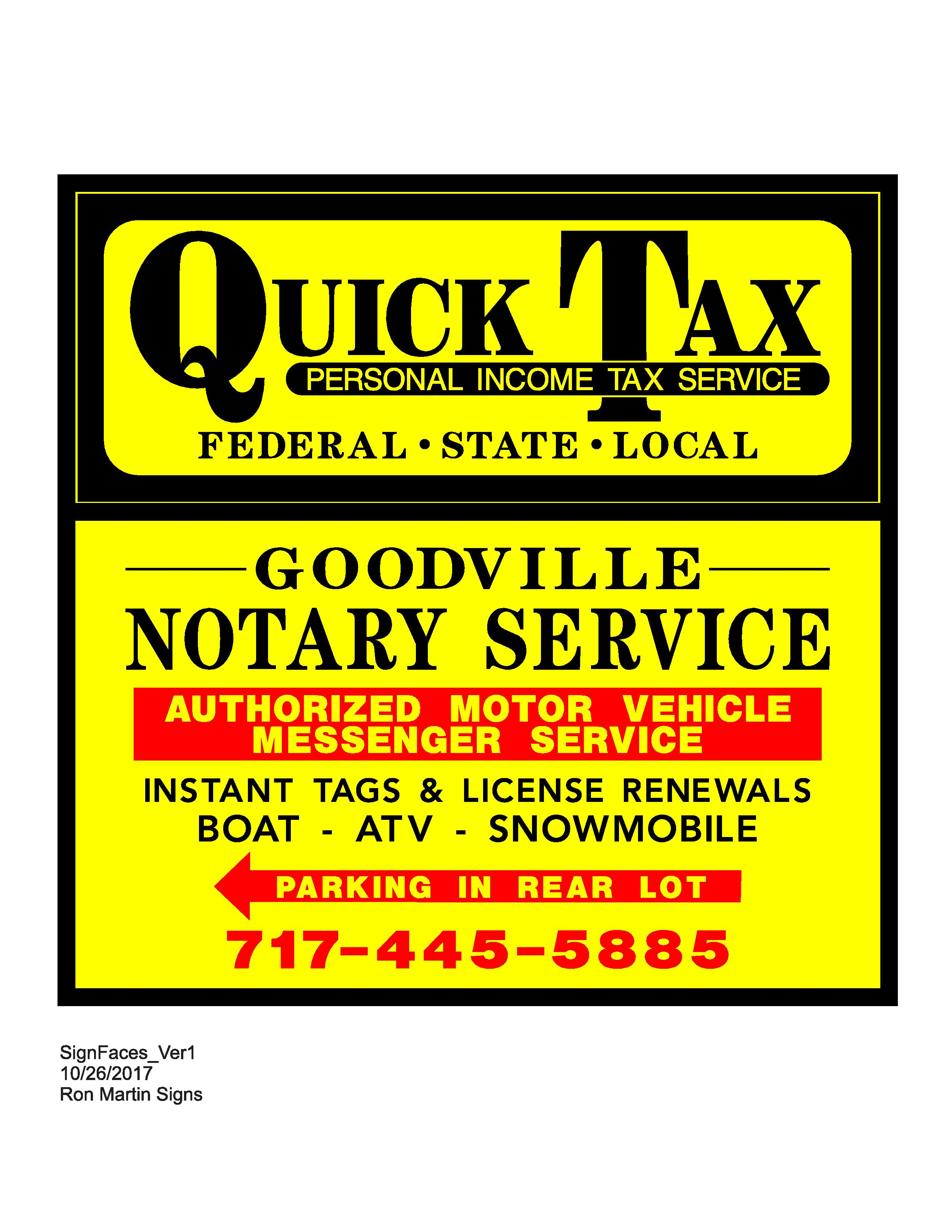 Goodville Notary Service
