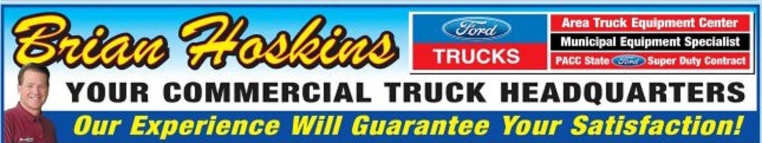 Brian Hoskins Ford Banner
